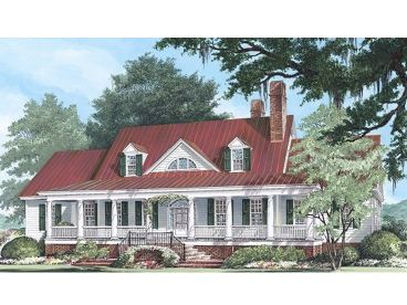 Southern Country Home, 063H-0056