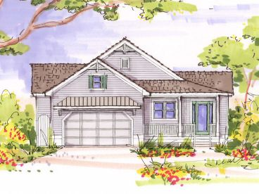 Small House Plan, 041H-0085