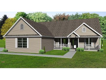Country Ranch House, 048H-0058