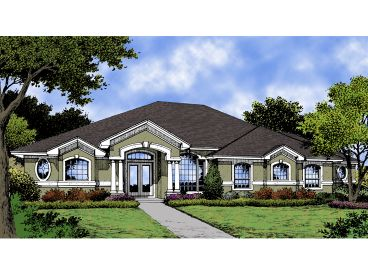 Florida House Plan, 043H-0107