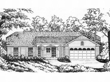 Affordable House Plan, 015H-0013