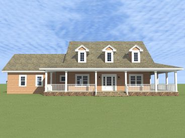 Country House Plan, 052H-0054