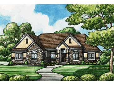 European House Plan, 031H-0209