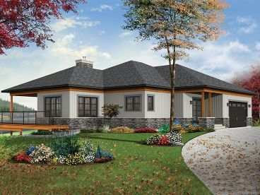 Waterfront House Plan, 027H-0456