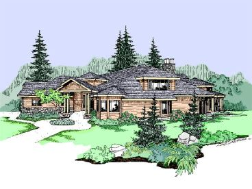 Luxury House Plan, 013H-0075