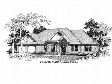 One-Story House Plan, 004H-0064