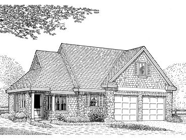 Small House Plan, 054H-0139