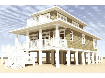 Outstanding Beach House Plans Narrow Lot Beach House Plan 052H 0092 At Largest Home Design Picture Inspirations Pitcheantrous