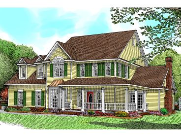 Two-Story Home Plan, 044H-0014