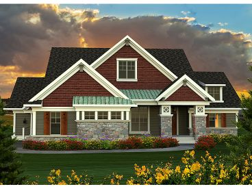 1-Story Home Plan, 020H-0350