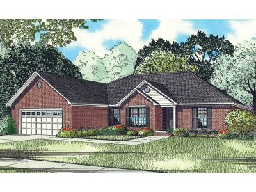 Traditional House Plan, 025H-0141