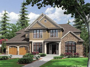Luxury House Plan, 034H-0124