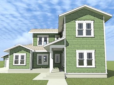 Country Home Design, 052H-0101