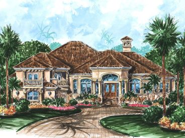 Florida Home Plan, 037H-0038