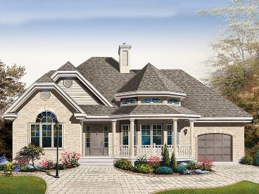 Ranch Home Design, 027H-0303