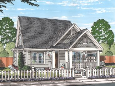 Two-Story House Plan, 059H-0200