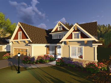 Family Home Plan, 020H-0397