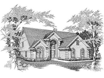 Two-Story Home Plan, 061H-0112