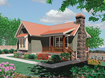 Mountain Home Plan, 034H-0064