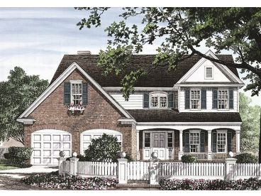 Traditional Home Plan, 063H-0171