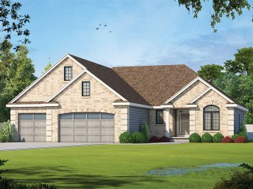 Traditional House Plan, 031H-0352