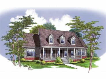 Southern Country Home, 021H-0173