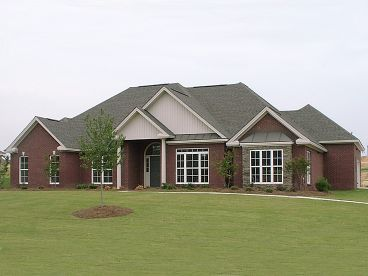 Traditional House Plan, 073H-0024