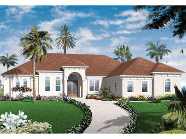 Florida House Design, 027H-0380