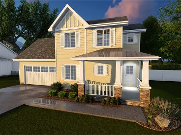 Small House Plan, 050H-0074