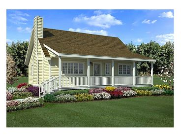 Country House Plan, 047H-0047