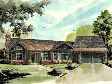 Mountain Home Plan, 066H-0025