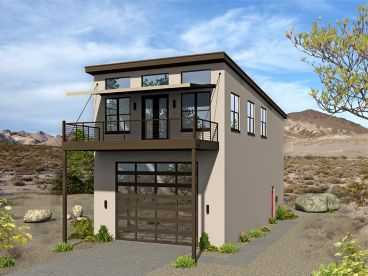 Garage Apartment Plans | RV Garage Apartment Plan with 3 ...