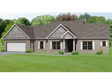 1-Story Home Plan, 048H-0024