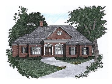 Traditional House Plan, 045H-0013