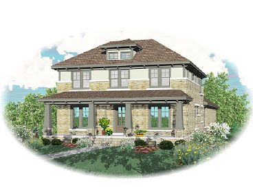 Craftsman House Plan, 006H-0106