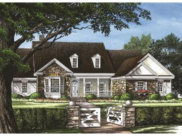 Luxury House Plan, 063H-0076