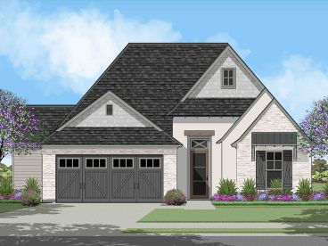 European House Plan, 079H-0019