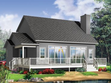 Vacation Home Plan, 027H-0398
