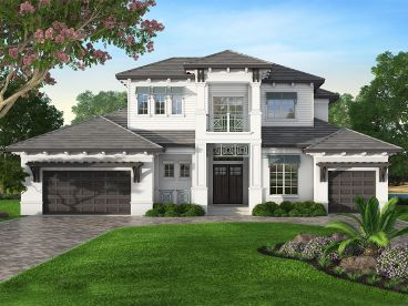 Two-Story House Plan, 069H-0022