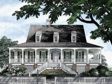Coastal Home Plan, 063H-0049
