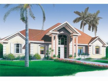 Sunbelt Home Plan, 027H-0005