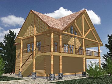 Carriage House Plan, 012G-0092