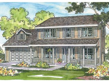 2-Story House Plan, 051H-0074