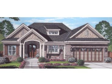 Ranch House Plan, 046H-0167