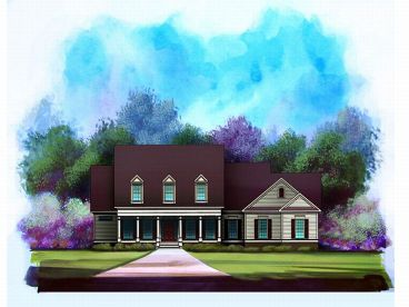 Country House Plan, 019H-0002