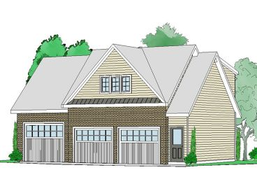 Garage Apartment Plan, 053G-0015