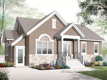 Duplex House Plan, 027M-0060