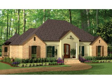 European House Plan, 042H-0011
