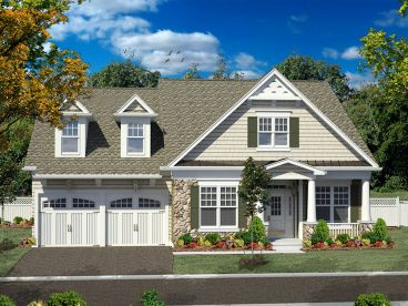 2-Story Home Plan, 014H-0088