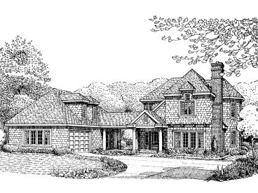 Two-Story Home Plan, 054H-0024